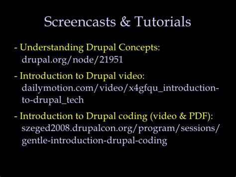 node js drupal tutorial drupal resources