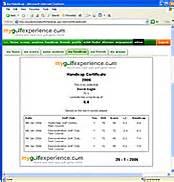 free golf handicap certificate template printable golf handicap certificate trials ireland