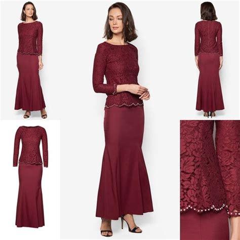 Paten Baju Kurung Moden Terkini baju kurung moden lace minimalis baju raya 2016 fesyen trend terkini fesyen trend terkini