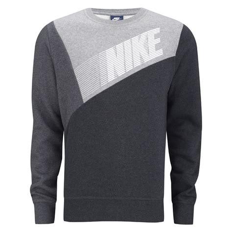 gravy boat crew neck sweatshirt nike men s club crew neck colour block sweater black