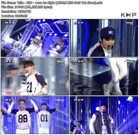 Download Mp3 Exo Love Me Right K2nblog | download perf exo love me right sbs fune the show 150616