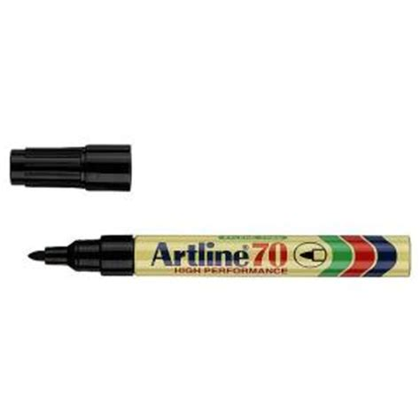 Pen Paper Spidol Artline Permanent Marker 70 artline 70 permanent marker bullet 1 5mm black staples now winc