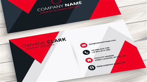 cdr templates business card creating a professional business card without any hassle