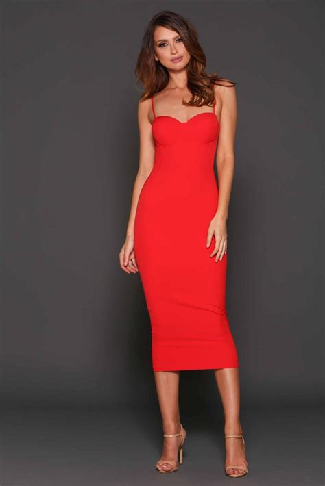 Rent ELLE ZEITOUNE Alannah Red Dress   RRP $259 ? Dress for a Night