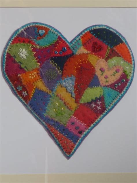 Patchwork Hearts - best 25 patchwork ideas on