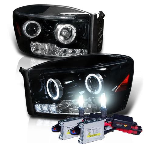 Halo Lights For Trucks by Hid Xenon 06 08 Dodge Ram Truck Eye Halo Led