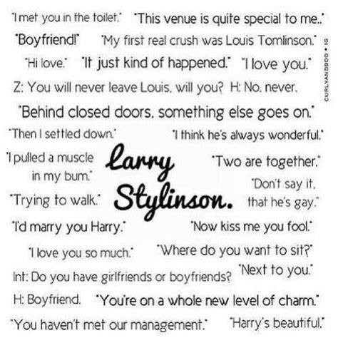 Quote Of The Day Larry Hardiman by Larry Stylinson Quotes Quotesgram