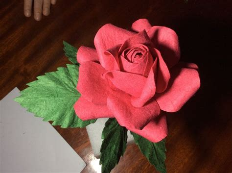 handmade paper flower tutorial how to handmade paper flower rose tutorial natural rose