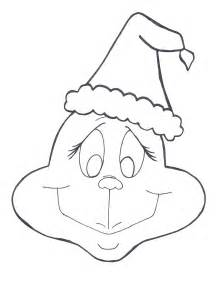 Grinch drawing template grinch whoville clipart