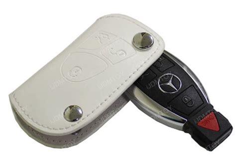mercedes key holder mercedes white leather key holder key fob for c e s