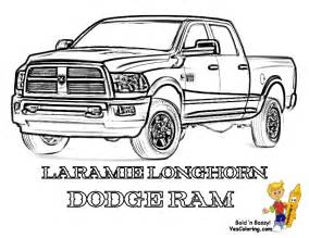 color trucks free coloring pages of lifted chevy trucks