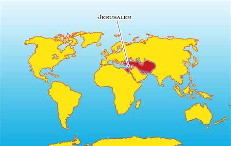 jerusalem map world where is jerusalem on the world map factsofbelgium