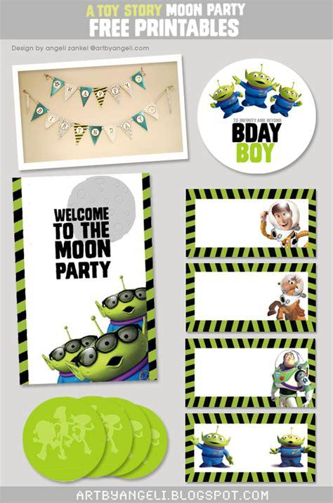 free printable birthday banner toy story artbyangeli toy story free printables