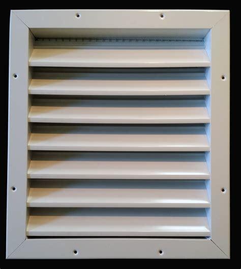 aluminum air intake vent cool  garage