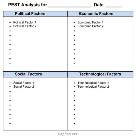 pest analysis template playbestonlinegames