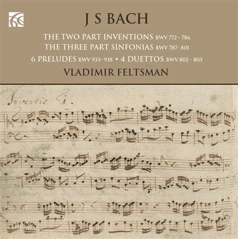 Buku Piano J S Bach Two Part Inventions Cd Included j s bach the two part inventions the three part sinfonias 6 preludes 4 duetto hbdirect genres