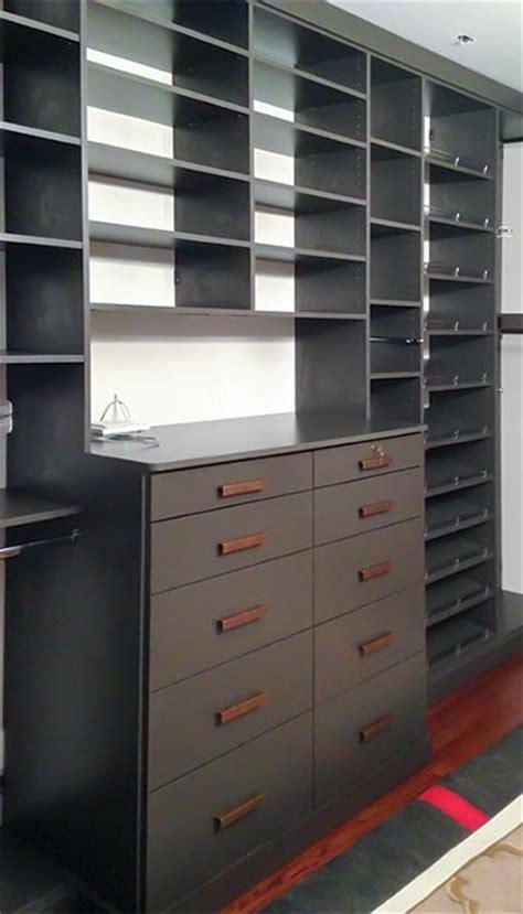 Custom Closet Drawers by Custom Closet Designer Az Closet Systems Cave