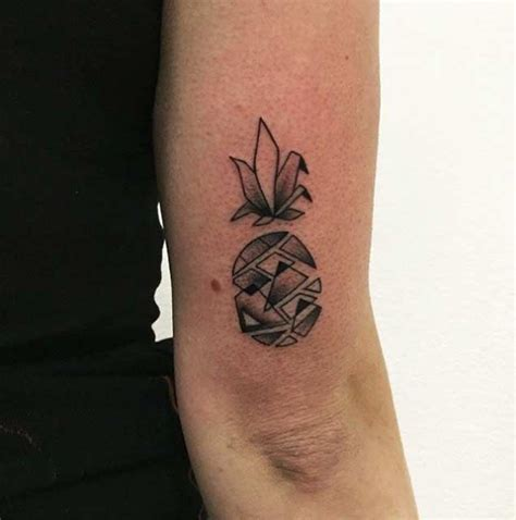 pineapple tattoo 50 best geometric tattoos images on