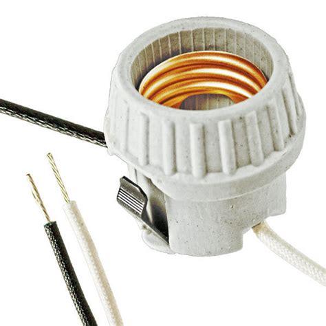 Snap In L Socket medium base snap in socket hid socket 600 watt