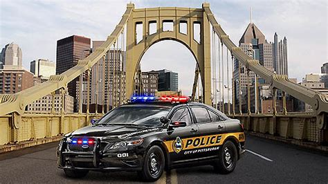 pittsburgh city police switch  ford  vehicles smail auto blog greensburg pa