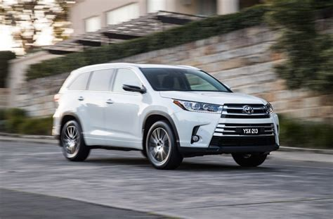 Toyota Copm Updated 2017 Toyota Kluger Now On Sale In Australia