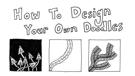 how to make own doodle how to doodle your own zentangle patterns part 1 basics