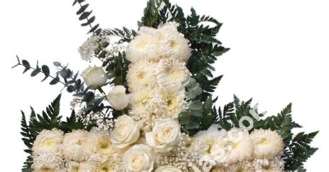 Salib Yesus Bunga Warna toko bunga mawar jakarta barat florist indonesia 24 jam krans salib dari rangkaian