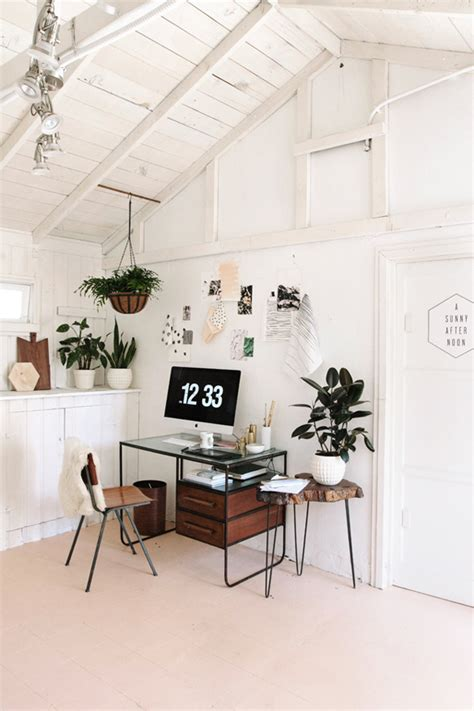 simple office decor simple home office plants