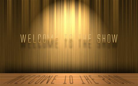 the show welcome to the show psd free by 3dericdesign on deviantart