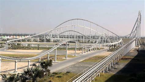 Ferrari World Working Hours by The World S Fastest Roller Coaster Abu Dhabi Uae Mvi