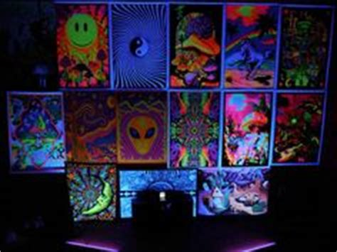 black light bedroom apartment ideas light