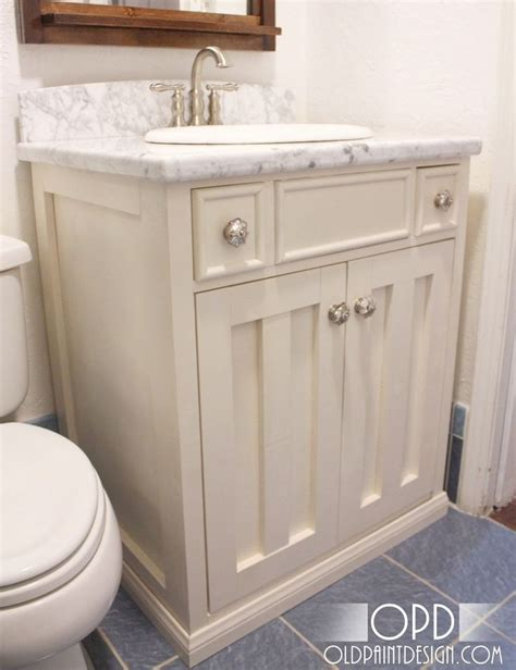 Make Bathroom Vanity Do It Yourself Bathroom Vanity Plans Woodworking