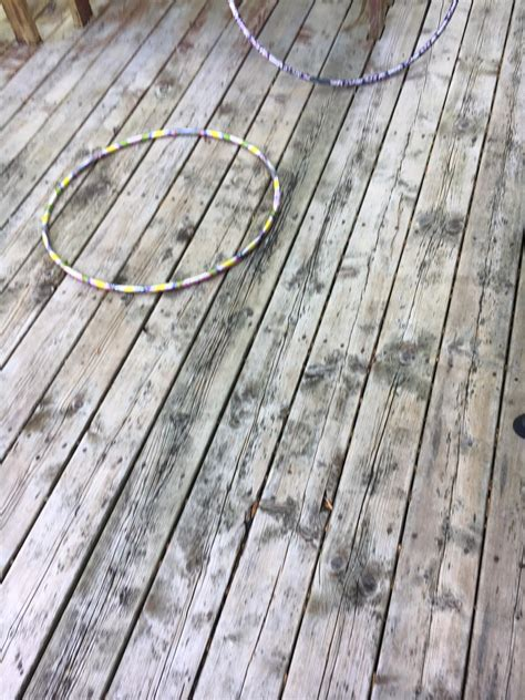 black spots left  deck  cleaning deck cleaning