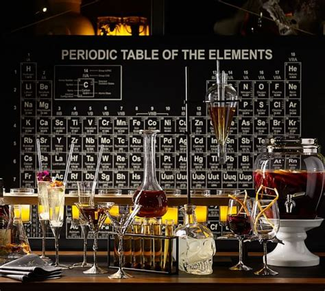 periodic table home decor periodic table wall art pottery barn