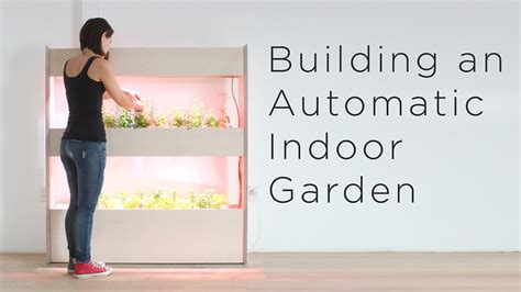 setting   automatic indoor garden customizing