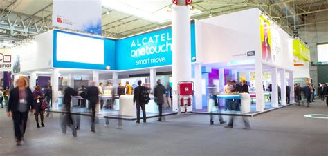 mobile congress stands in mobile world congress