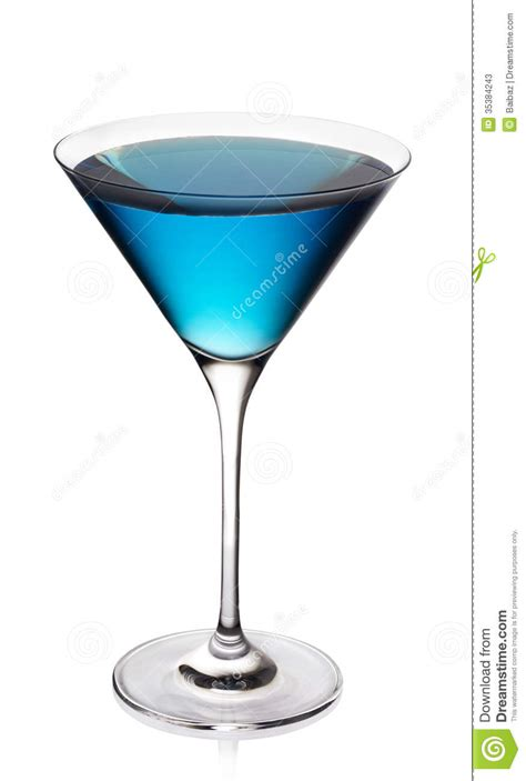 blue martini clip blue cocktail stock image image of cocktail curacao