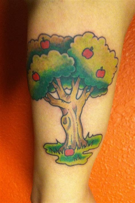 apple tree tattoos i ve done