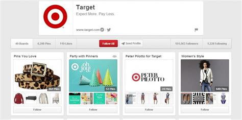 pinterest target how pinteresting brands use best practices to increase