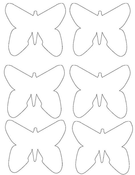 butterflies templates to print best photos of butterfly templates lots of sizes