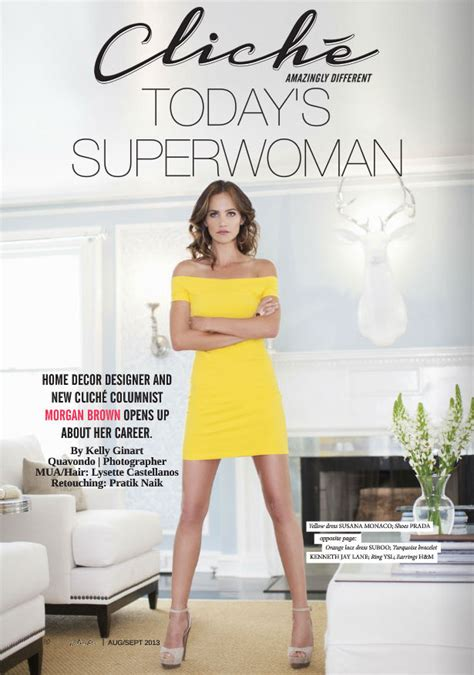 Home Decor Blog by Cliche Magazine Today S Superwoman By Kelly Ginart