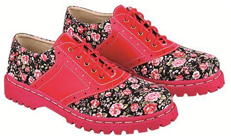 Sepatu Wanita Sepatu Kets Wanita Casual Motif Bunga Sds101 sepatu kets wanita motif bunga model terbaru lsw 269