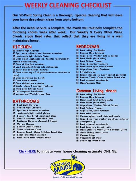 printable weekly house cleaning checklist here is our weekly cleaning checklist for the home