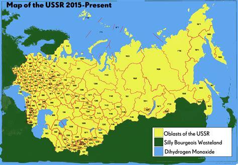 ussr map map ussr
