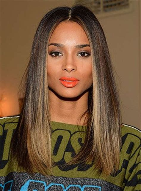 gradually lsyered medium bob blunt cut ciara hairstyles blunt cut medium straight center part