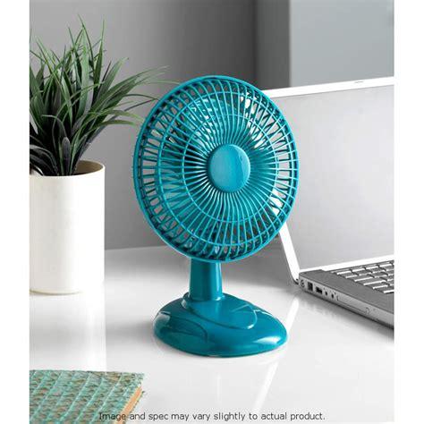 6 inch desk fan b m