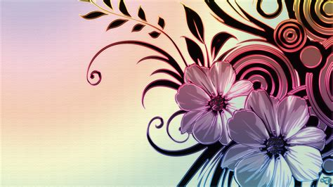 wallpaper flower design vector and design hd wallpapers free download