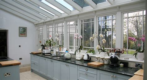 kitchen conservatory designs kitchen conservatories
