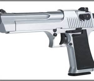 Kwc 50 desert eagle style blowback version silver co2 airsoft pistol