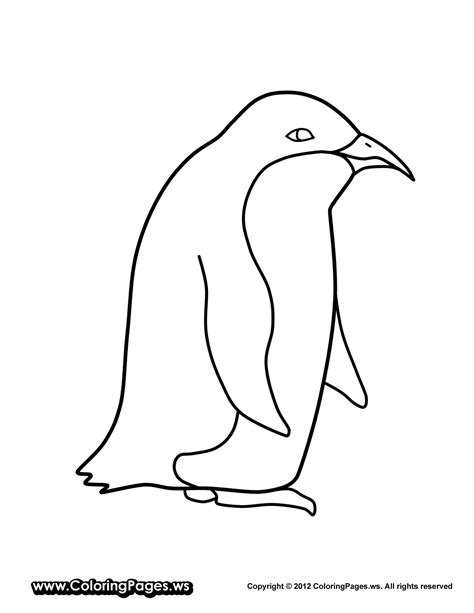 free coloring pages of penguin color by number